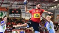 Angel Fernandez baja ante Croacia por enfermedad. Regresa Dani Dujshebaev