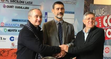 Quabit Guadalajara - Barcelona y Ademar León - Anaitasuna enfrentamientos de la Copa Asobal