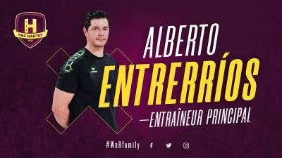 Alberto Entrerrios nuevo entrenador del HBC Nantes