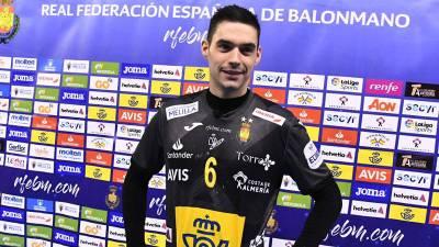 Angel Fernandez vuelve a la plantilla de España para las semifinales