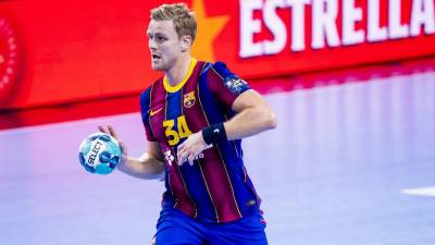 El Barcelona aterriza en Colonia con la duda de Aron Palmarsson