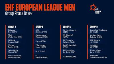 Duros rivales para Bidasoa y Ciudad de Logroño en EHF European League