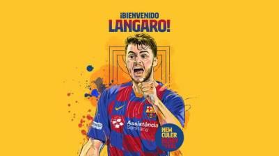 El Barcelona oficializa el fichaje de Haniel Langaro hasta 2023