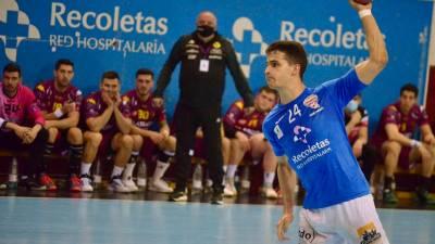 Jorge Serrano, máximo goleador Liga Asobal 20/21